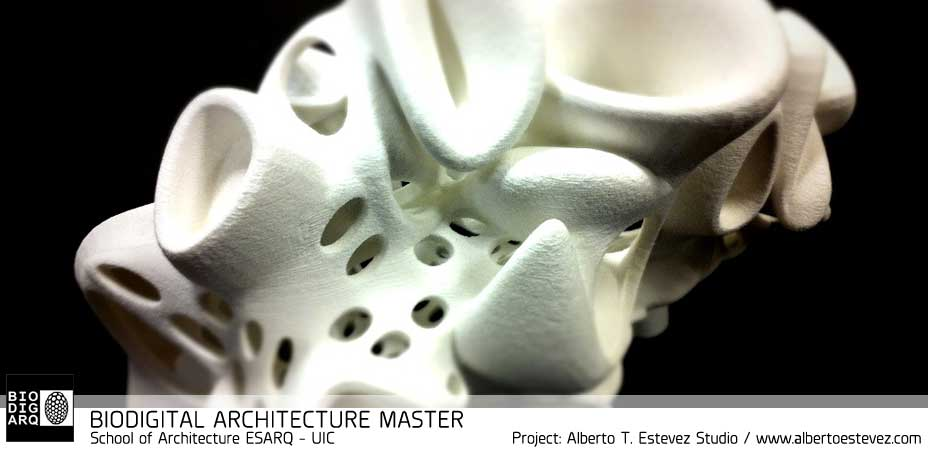 Architecture biodigital & genetic, advance architecture barcelona, esarq uic , iaac , instituto de arquitectura avanzada de catalunya, generative design, genetic design, parametric design, master arquitectura barcelona