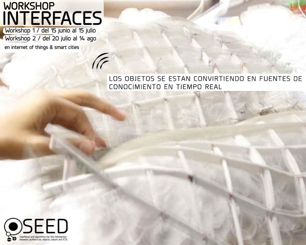 Diseño de interfaces en internet of things con diseño parametrico - generativo y arduino