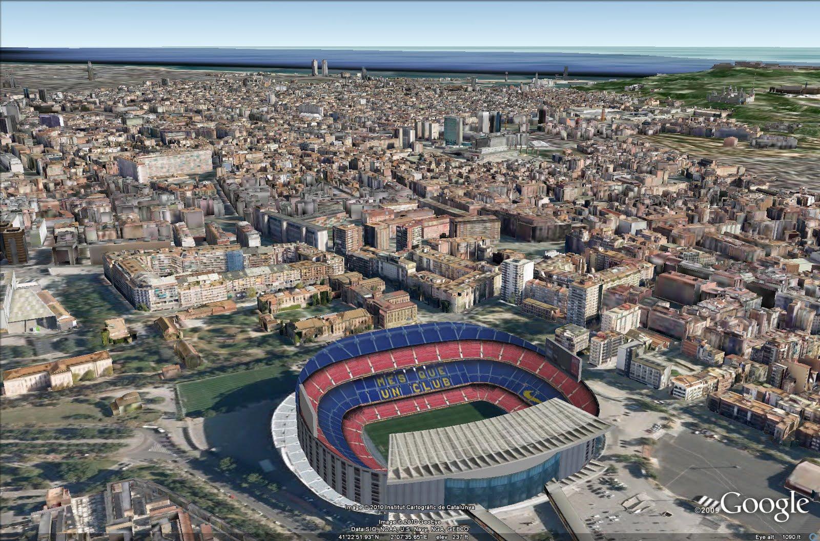 Barcelona En Sketchup Seed Studio