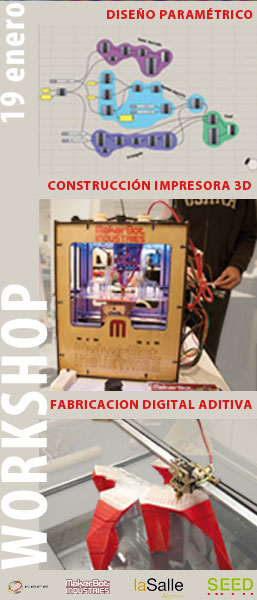WORKSHOP: Crea + Construye + Fabrica con datos