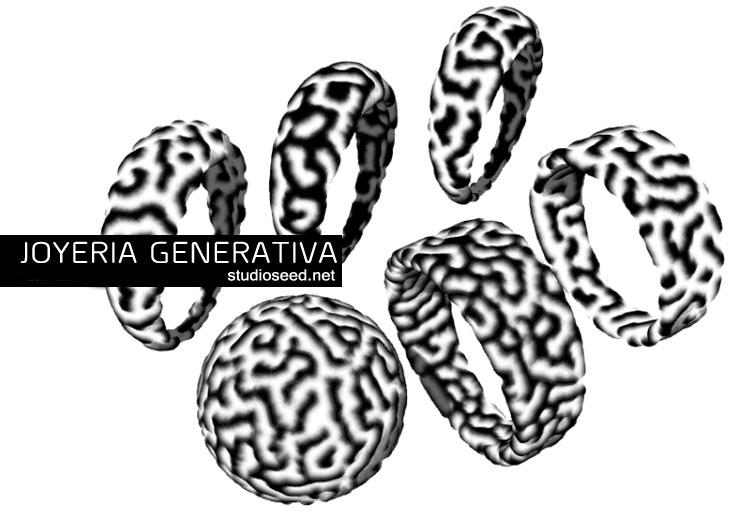 Curso de joyería paramétrica - generativa - digitalización de la industria joyera.
