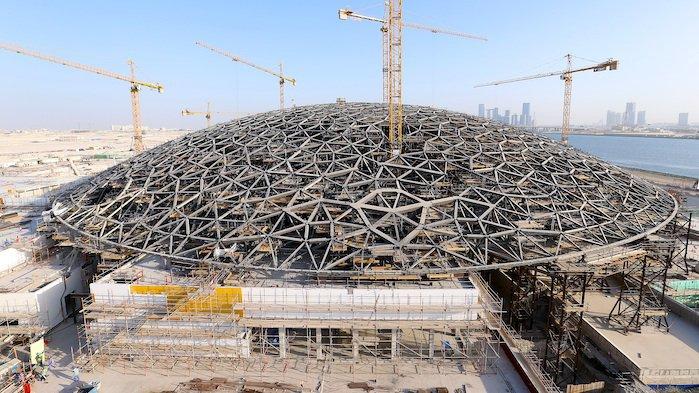 Cúpula Louvre Abu Dhabi
