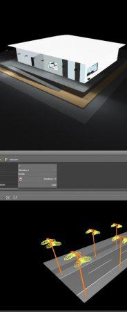 Crear una escena exterior Insertar un Autocad en formato dwg o dxf de fondo en el caso de que haya superficies complejas. Dibujar un plano de suelo que lo abarque todo. Dividirlo […]