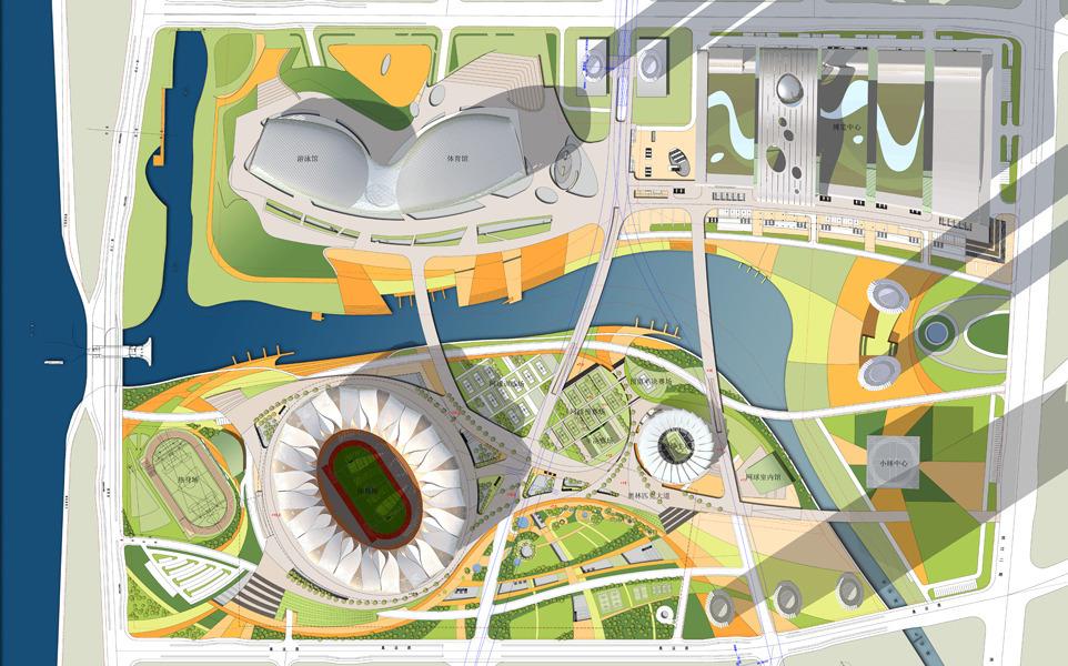 El espectacular centro de tenis de hangzhou desarrollado for Arquitectura parametrica pdf
