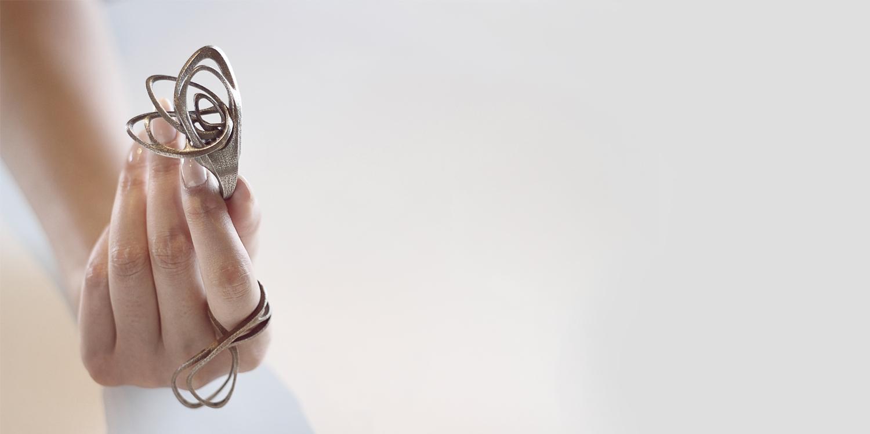 collar catena, curso impresion 3d barcelona mexico, cursos de joyeria parametrica barcelona y mexico, Jenny Wu, joyeria paramétrica, LACE