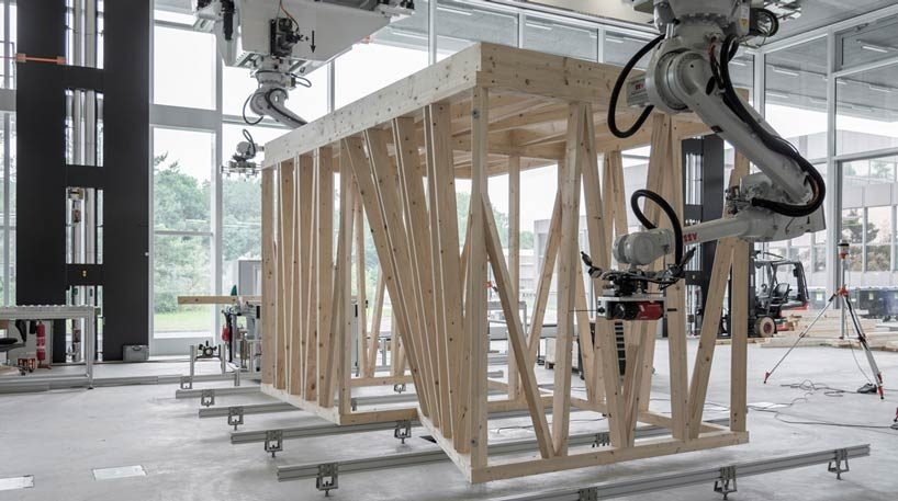 architecture. robotic fabrication, arquitectura robótica, Construcción 4.0, curso grashopper méxico barcelona, DFAB House, digital fabrication, Eawag, Empa, ETH Zurich, fabricación aditiva, fabricación digital, In situ Fabricator, NCCR, NEST, Smart Dynamic Casting, Smart Slab, Spatial Timber Assemblies