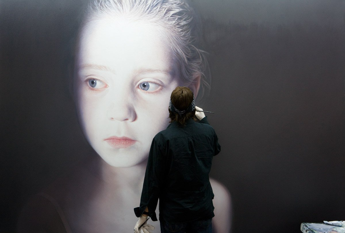inteligencia artifical, algoritmos, arte emergente, obvious art, Gottfried Helnwein, Joongwon Charles Jeong, Diego Lazio,