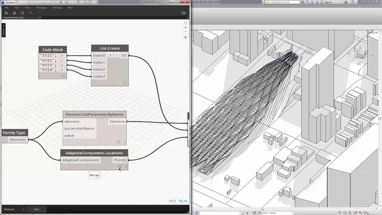 La clave para importar Sketchup a Revit utilizando Dynamo  – SEED studio