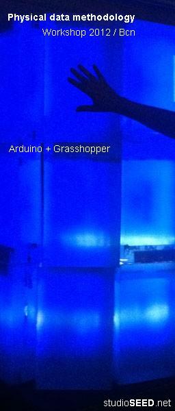Pyisical Data Methodology // Arduino + Grasshopper