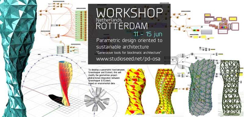 Grasshopper Rotterdam, generative design, Rotterdam, sustainability, advance architecture
