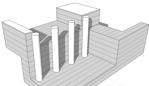 Corte del modelo