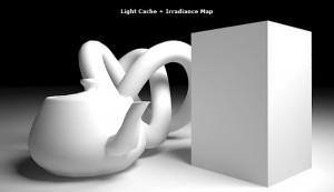irradiance map + light cache