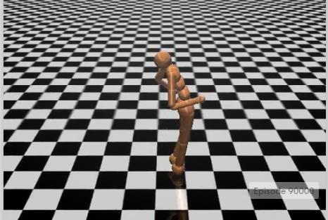Humanoid-v0. Imagen obtenida de OpenAI Gym