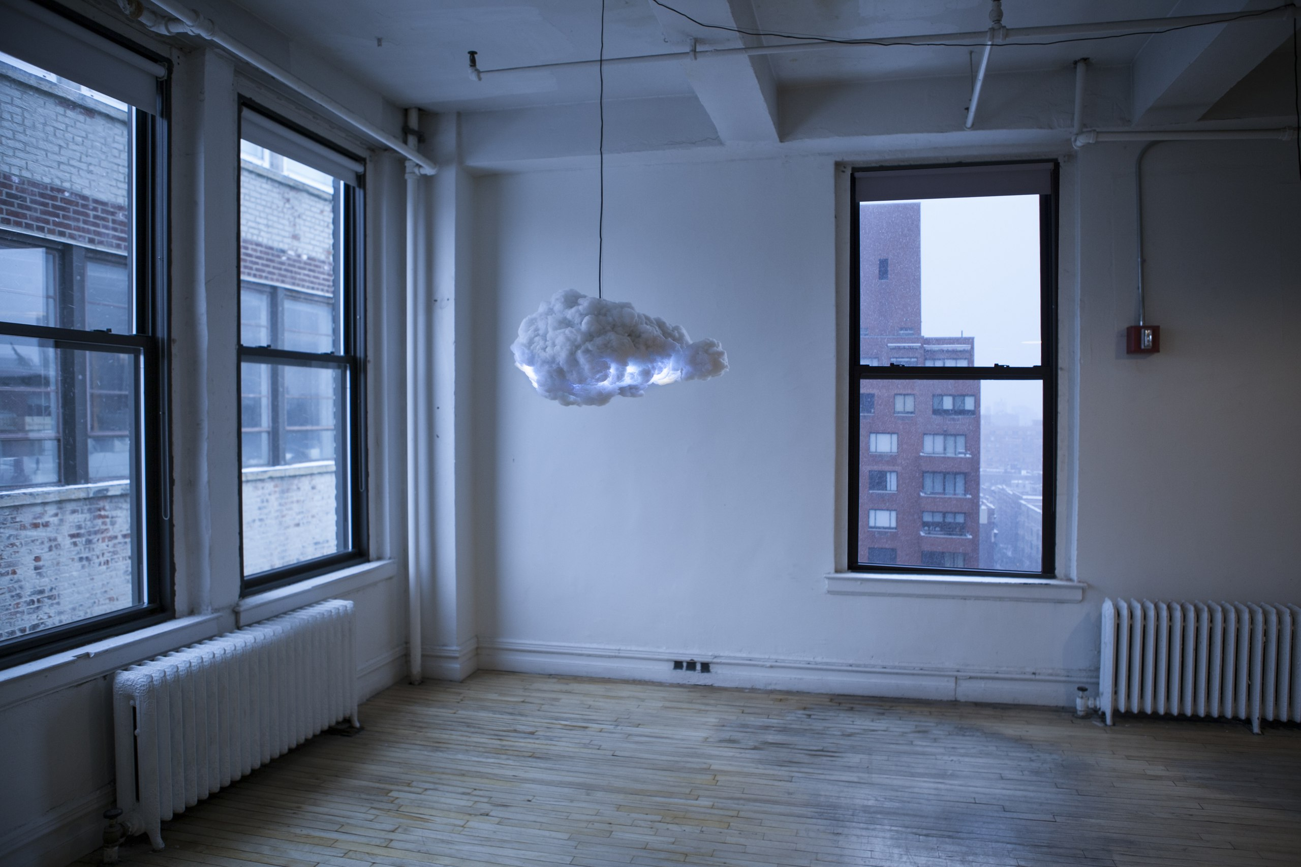 storm cloud lamp, internet of things & design, proyectos iot barcelona, diseñadores iot, diseño de interfaces