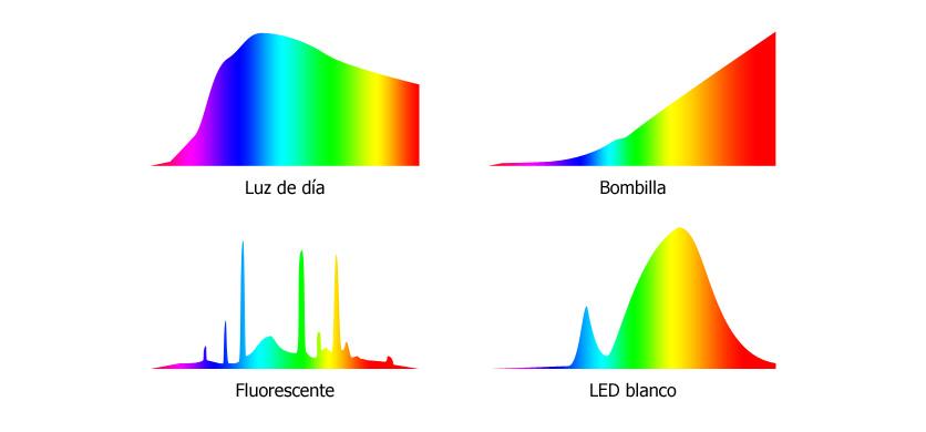 Luz natural Vs Luz artificial