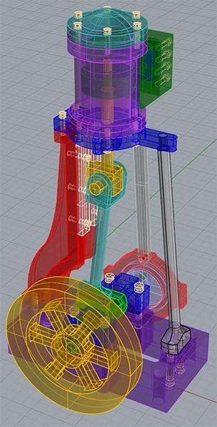 Cursos y proyectos en Solidworks, modelado 3D en solidworks