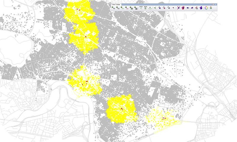 Herramienta de urbanismo para Rhinoceros, urbanismo con Rhino, modelado 3d, modelado orgánico, geometrías complejas, el mejor software de modelado 3D, modelado con nurbs