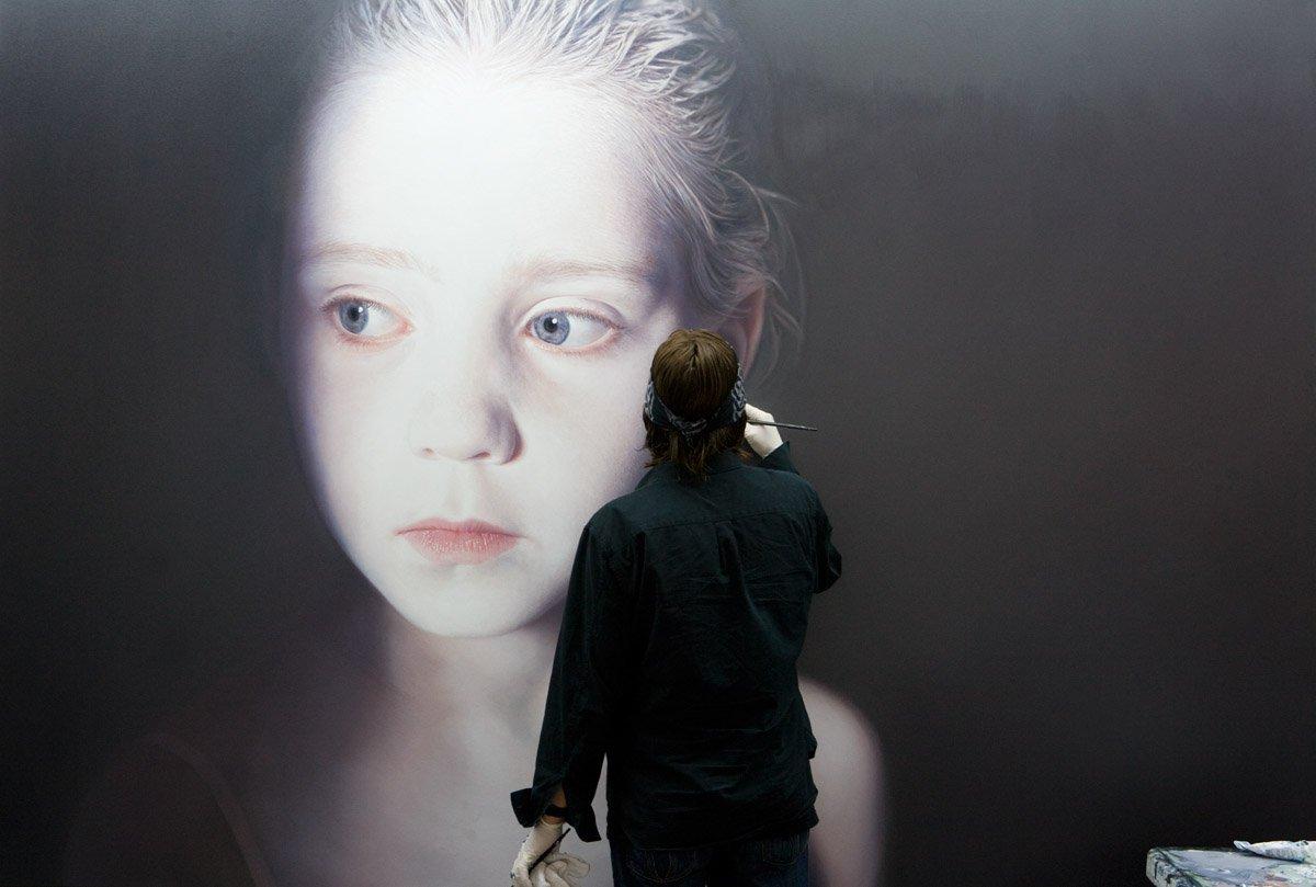 inteligencia artifical, algoritmos, arte emergente, obvious art, Gottfried Helnwein, Joongwon Charles Jeong, Diego Lazio,