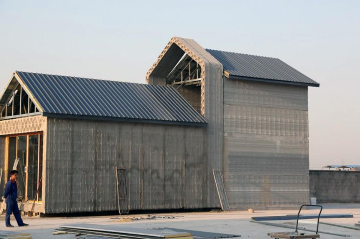 Construcción 4.0, Industria 4.0, Impresión 3d, Vivienda asequible, viviendas impresas en 3d, Winsun
