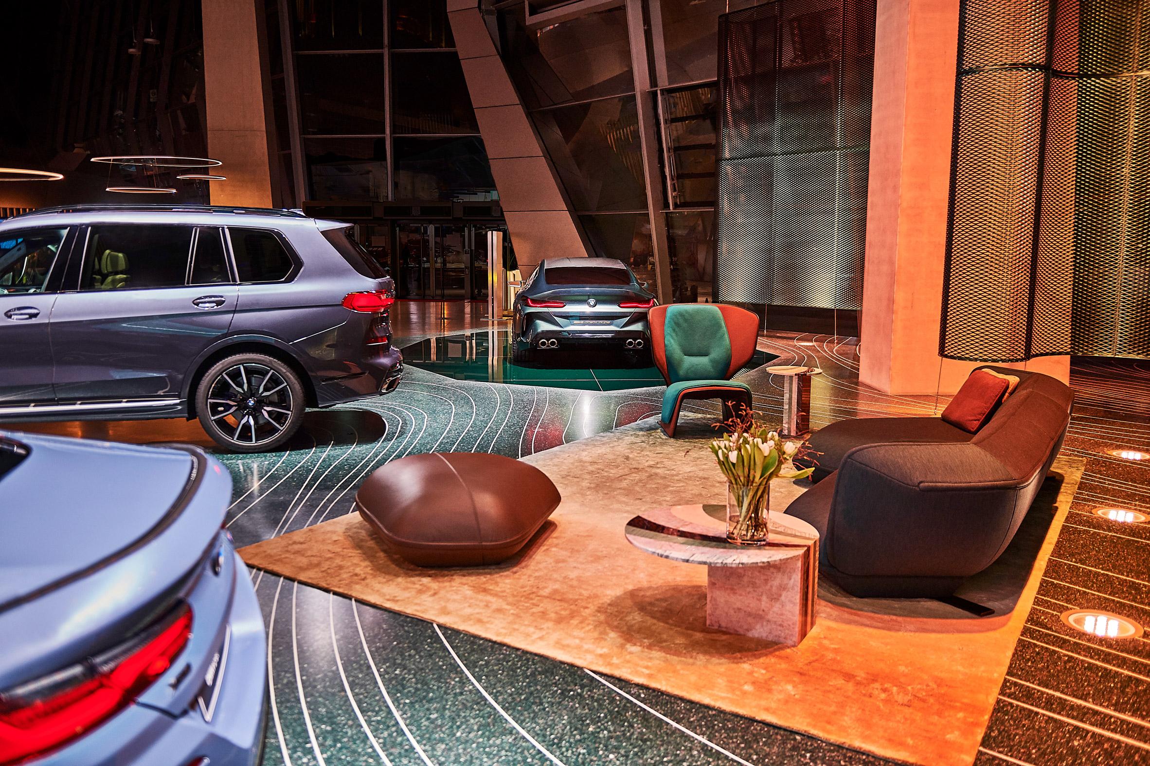 3d printing, 3D printing barcelona and mexico, Aectual, BMW, curso impresion 3d, impresión 3d, Patricia Urquiola, Pisos ecológicos, BMW Welt, M8 Gran Coupé, Materiales reciclados, Robotica,